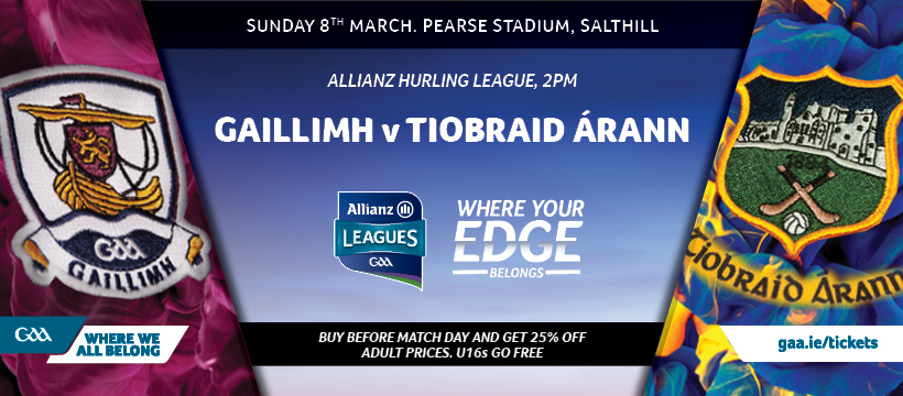 2020 Allianz Hurling League Division 1 – Galway 3-21 Tipperary 3-13
