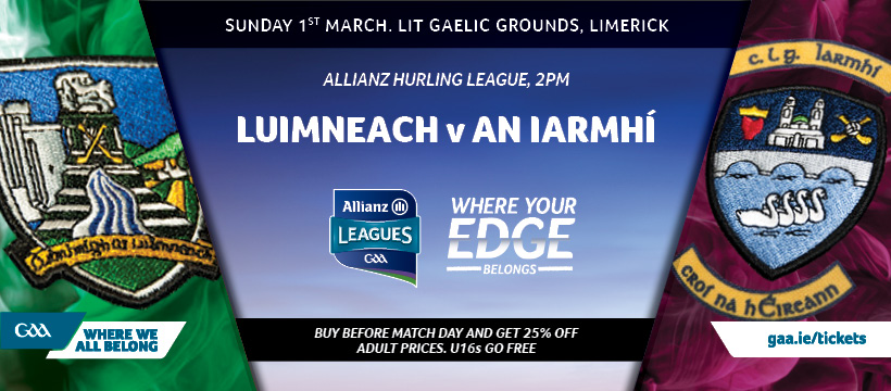 2020 Allianz Hurling League Division 1 – Limerick 1-24 Westmeath 0-18