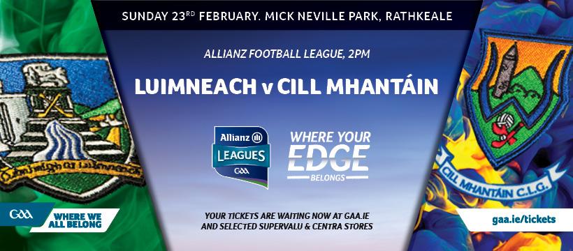 2020 Allianz Football League Division 4 – Limerick 5-10 Wicklow 1-14