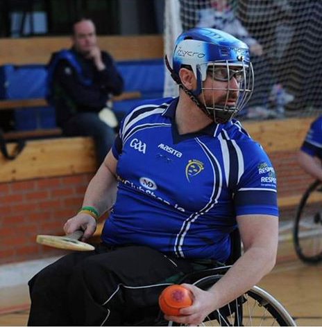 Munster Wheelchair Hurling Player Profile – James McCarthy