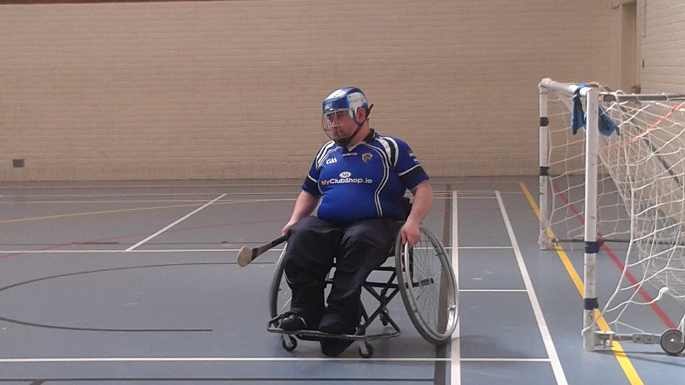Munster Wheelchair Hurling Player Profile – Steven Casey