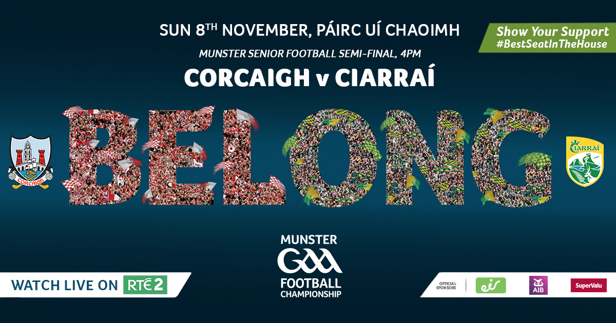 2020 Munster GAA Senior Football Championship Semi-Final – Cork v Kerry