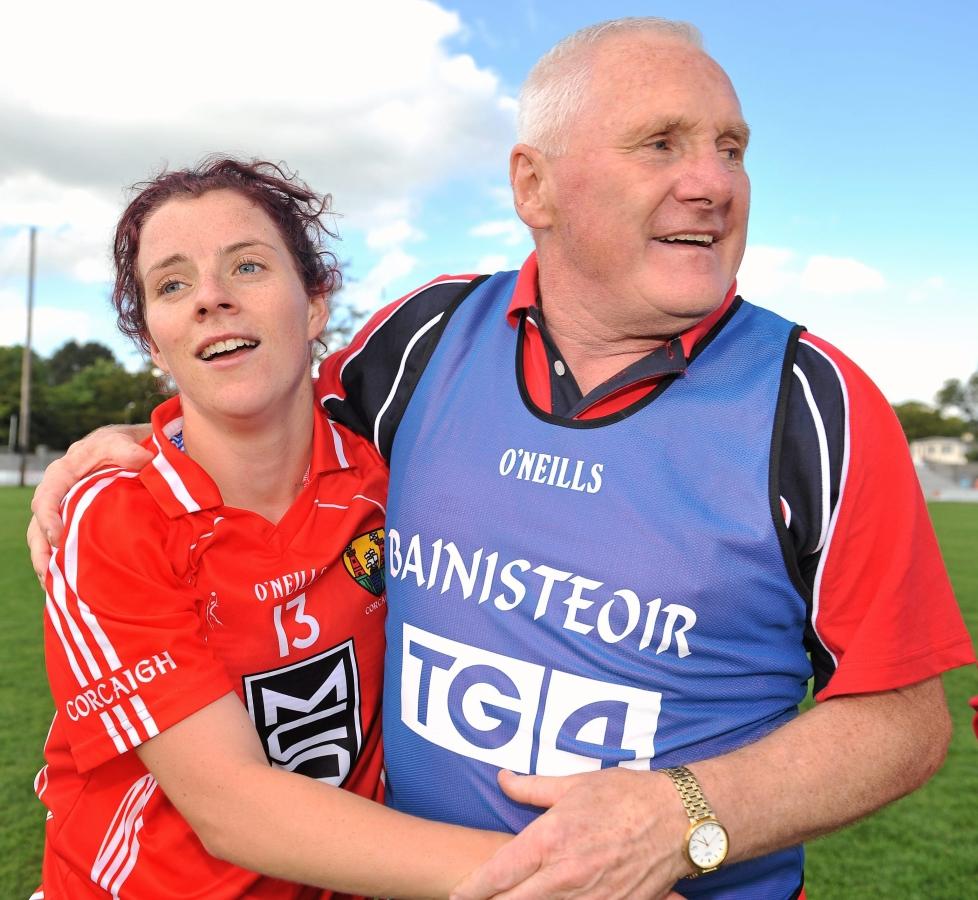 Interview with former Cork Ladies Footballer Valerie Mulcahy