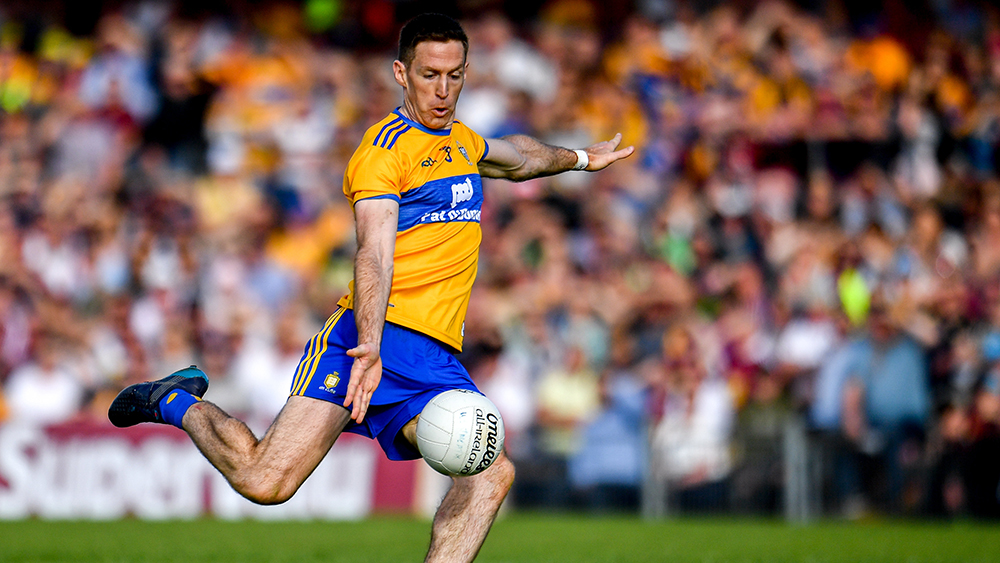 Clare's Colm Collins delighted to have Gary Brennan back
