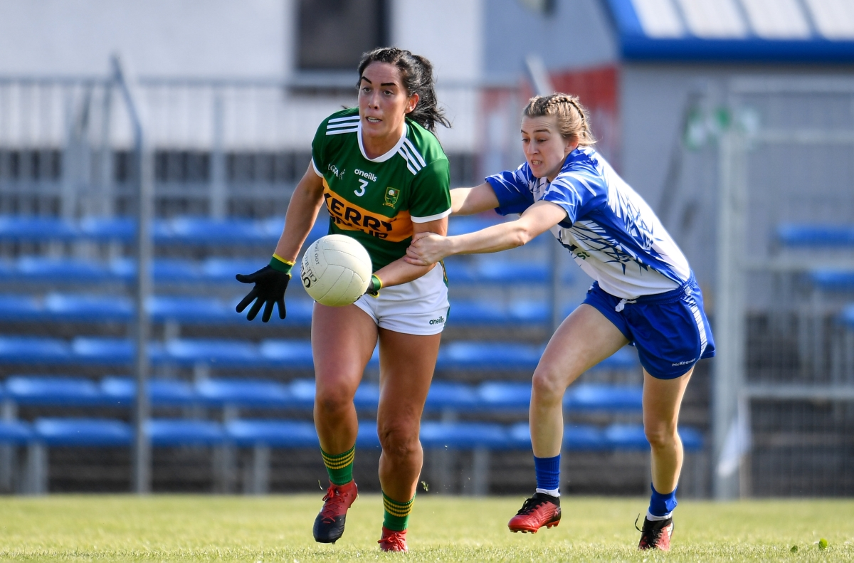 Kerry's Aislinn Desmond – For a rural part of Kerry, it is really nice to get the captaincy in both codes