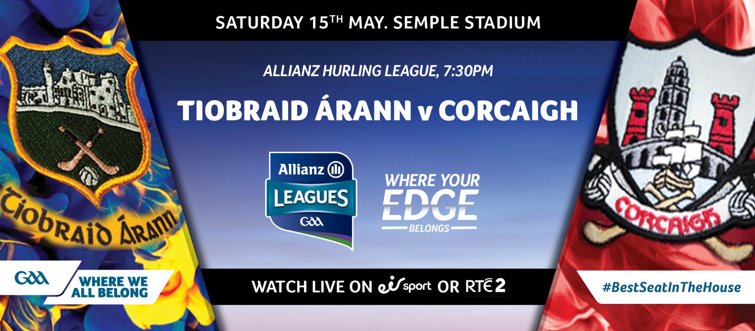 2021 Allianz Hurling League Division 1 – Tipperary v Cork