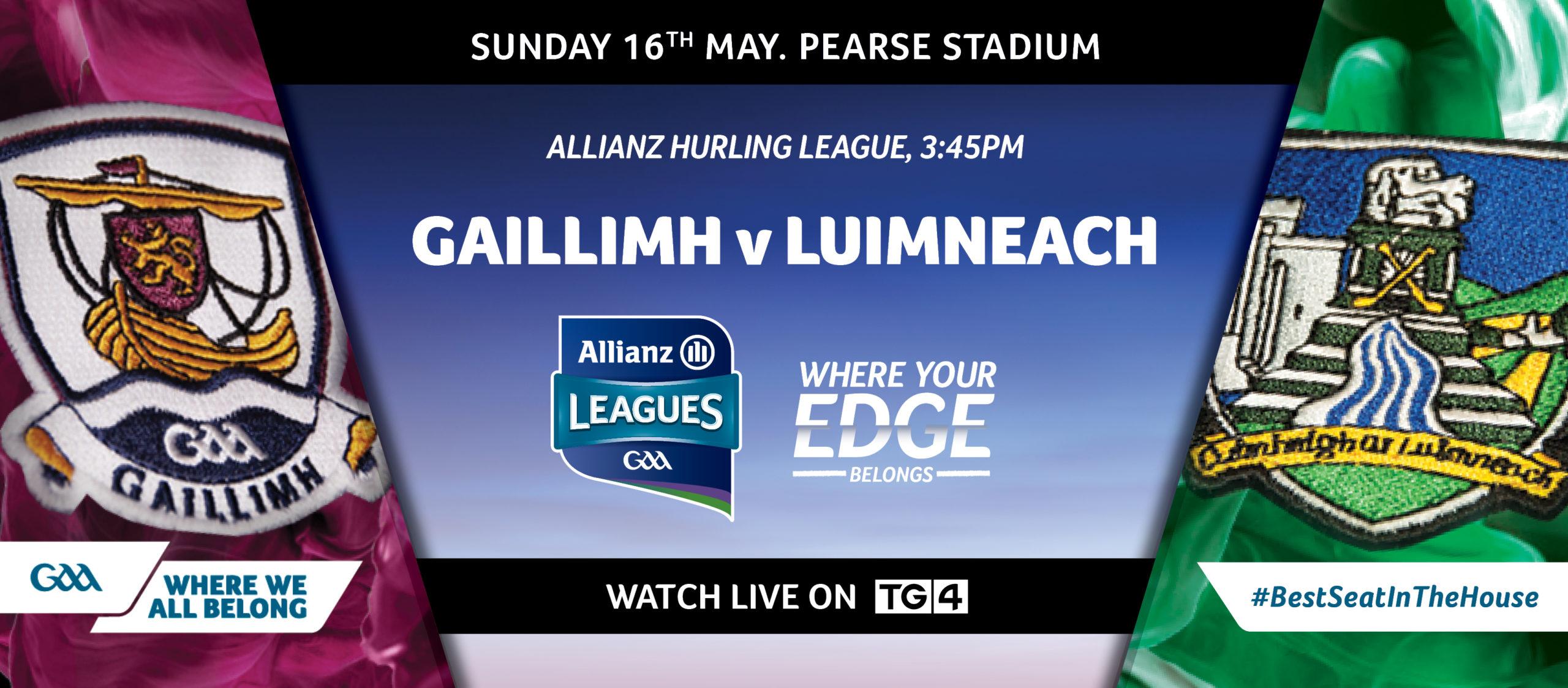 2021 Allianz Hurling League Division 1 – Galway v Limerick