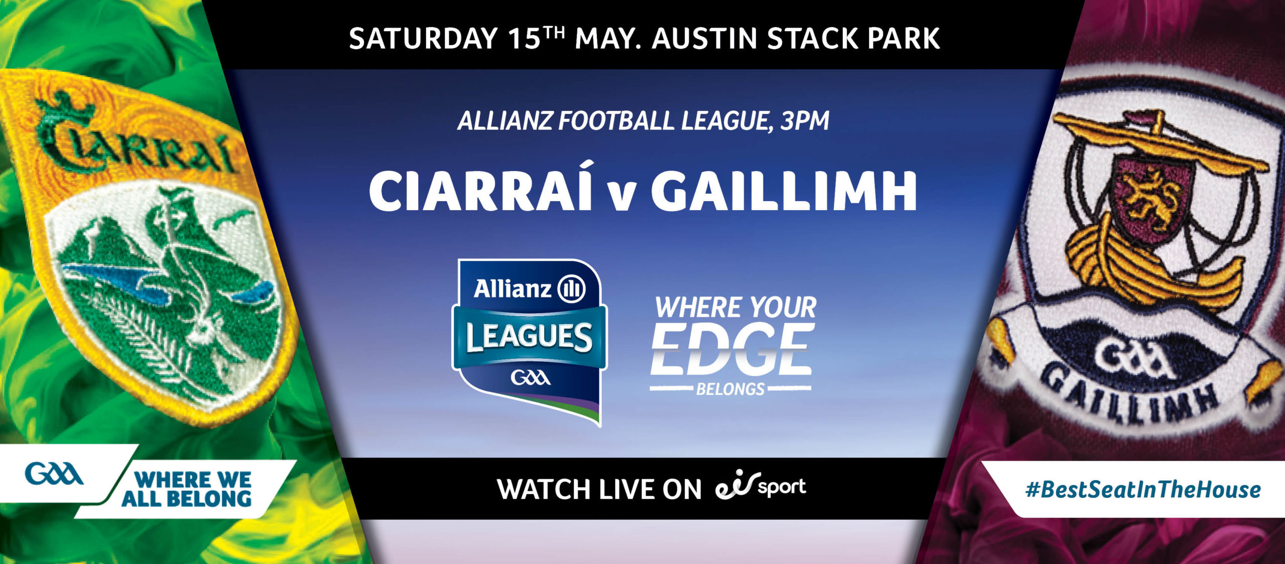 2021 Allianz Football League Division 1 South – Kerry v Galway