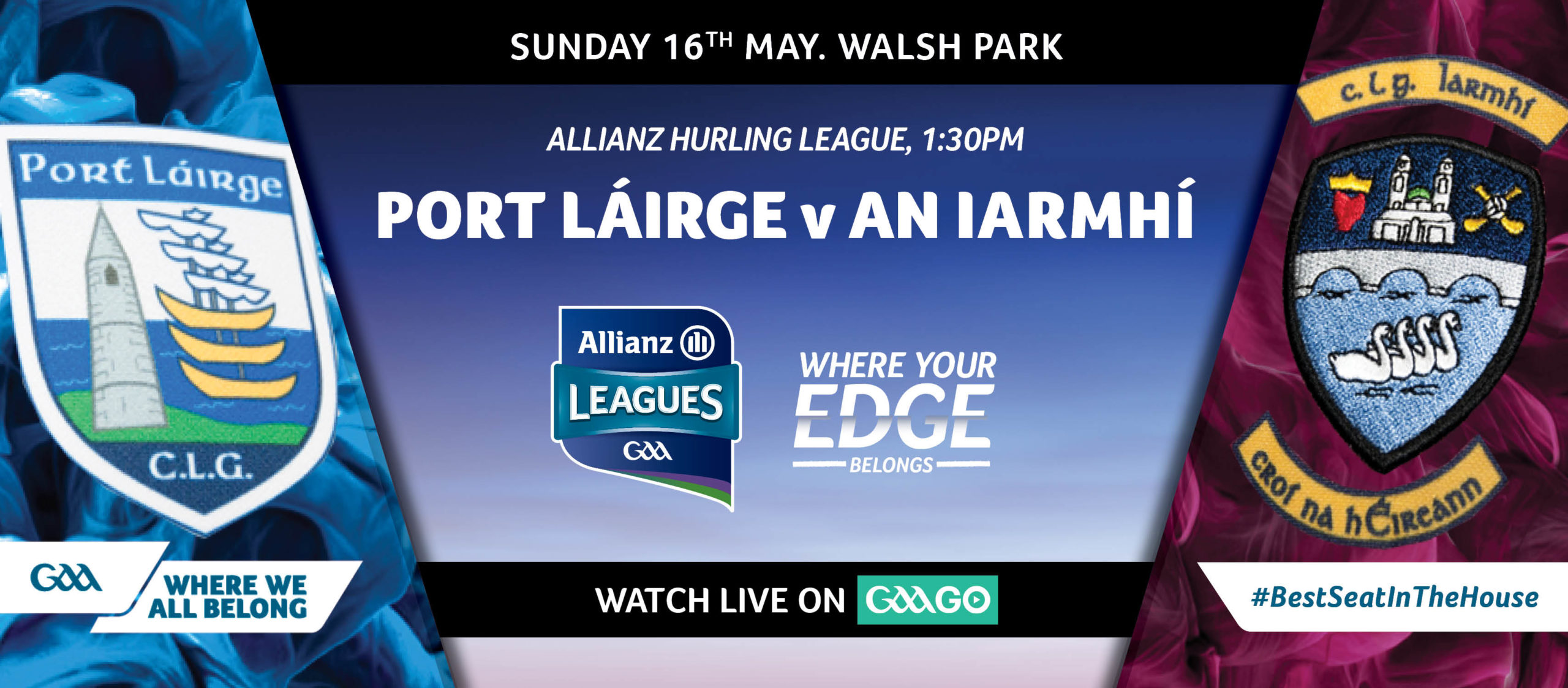 2021 Allianz Hurling League Division 1 – Waterford v Westmeath