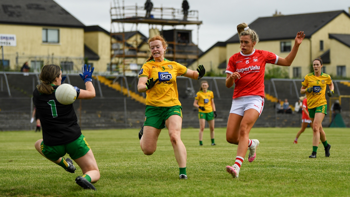 Lidl National Ladies Football League Division 1 Semi-Final – Cork 5-10 Donegal 3-13