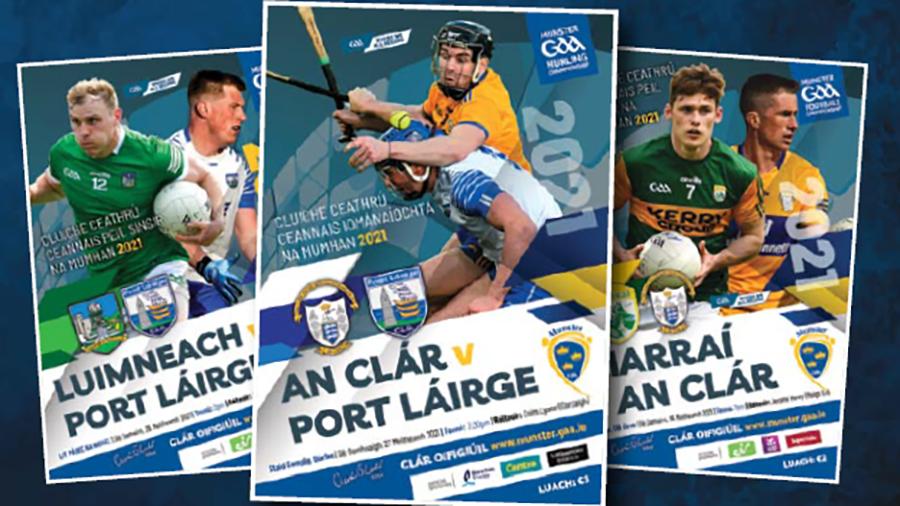 Munster Championship Match Programme Bundles Available