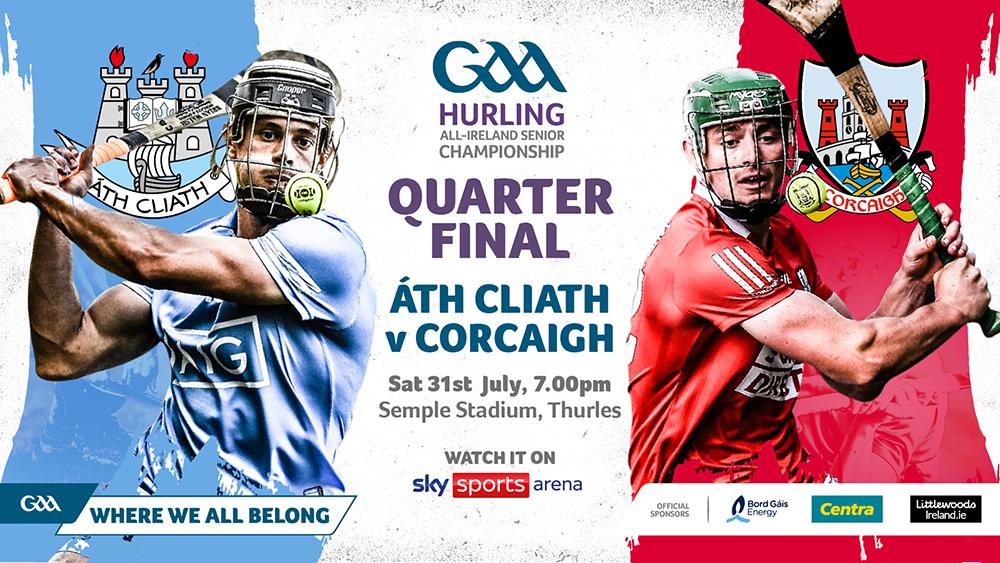 2021 All-Ireland Senior Hurling Championship Quarter-Final – Cork 2-26 Dublin 0-24