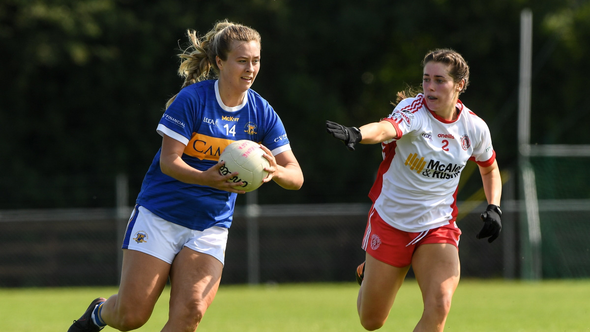 2021 TG4 All-Ireland Ladies SFC relegation play-off – Tipperary 7-10 Tyrone 3-16