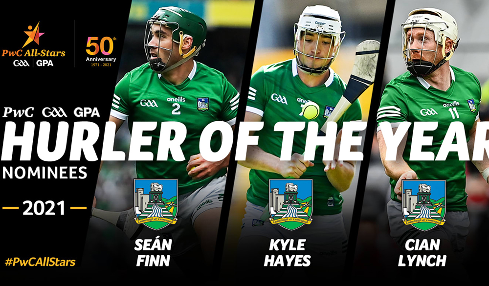 Limerick lead the way as PwC All-Star hurling award nominations announced